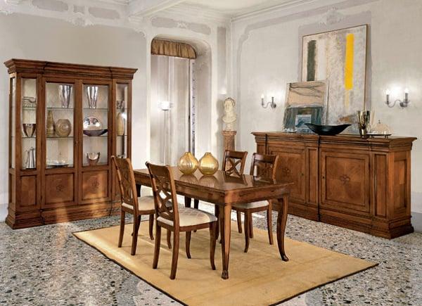 Foto zona giorno sala da pranzo le monde da tornello for Sala da pranzo foto