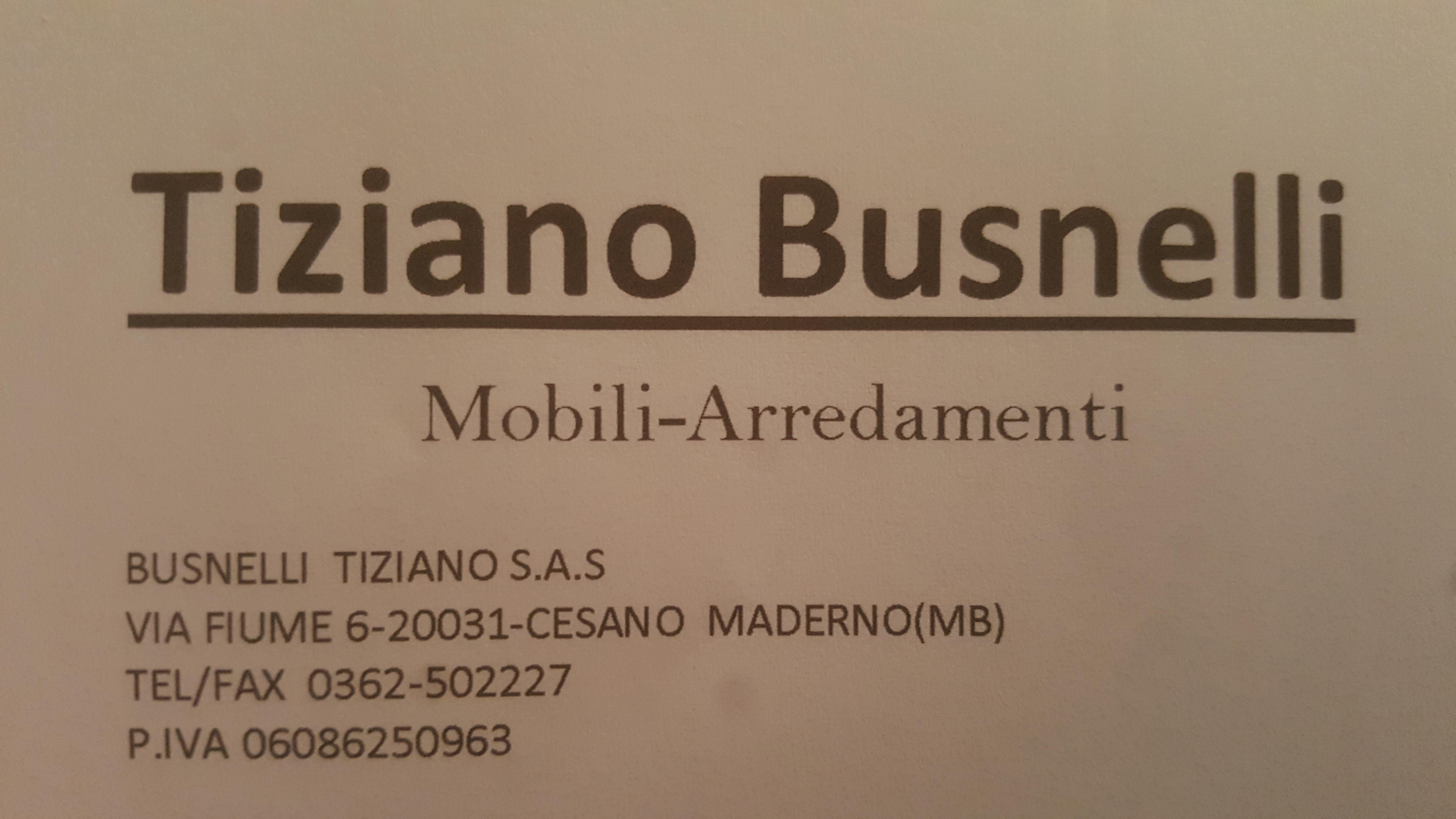 Tiziano Busnelli S.a.s