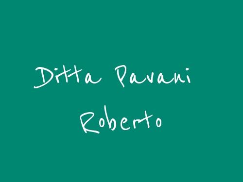 Ditta Pavani Roberto