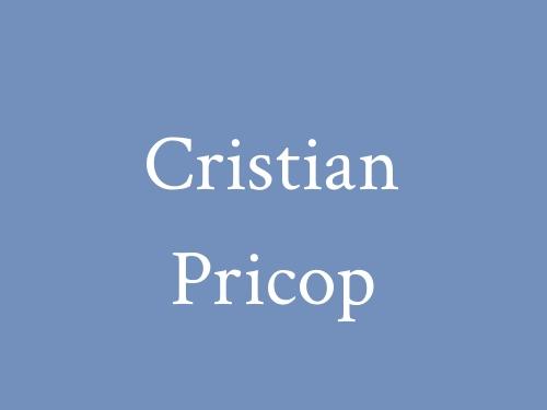 Cristian Pricop