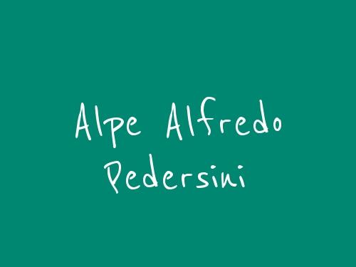Alpe Alfredo Pedersini
