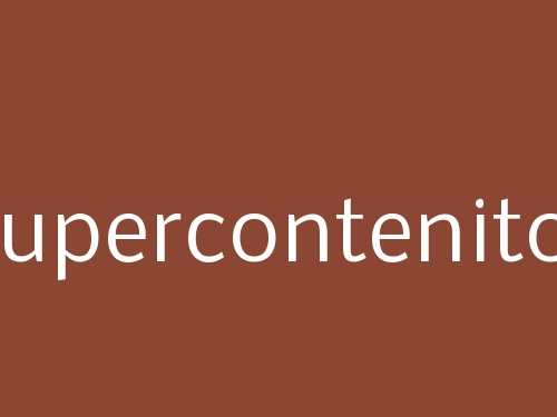 Supercontenitor