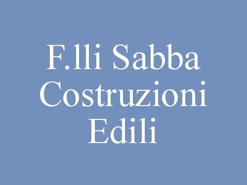F.lli Sabba Costruzioni Edili