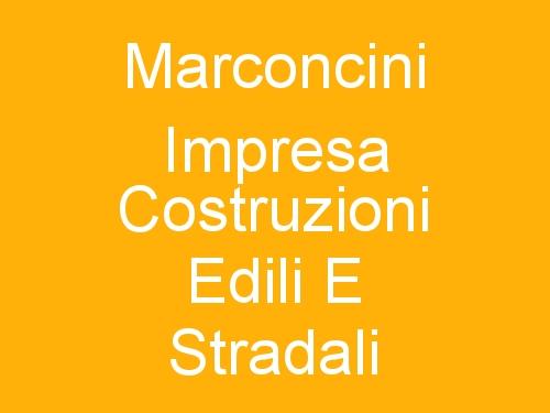 Marconcini Impresa Costruzioni Edili E Stradali
