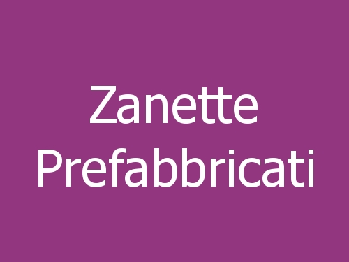 Zanette Prefabbricati