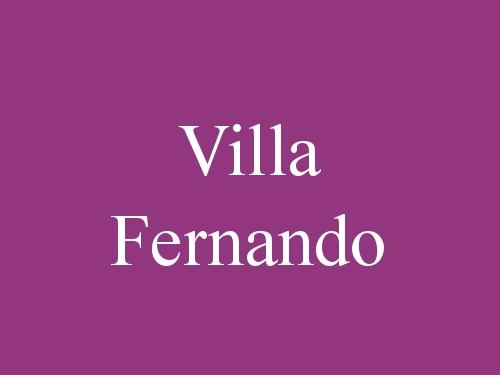 Villa Fernando