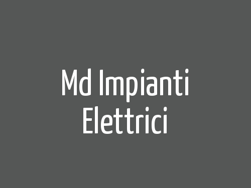 Md Impianti Elettrici