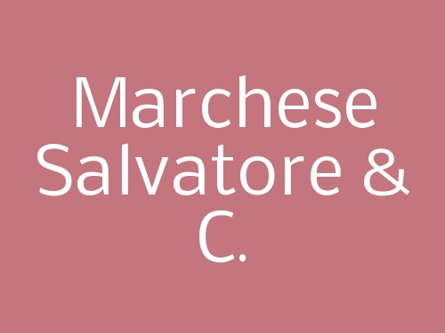 Marchese Salvatore & C.