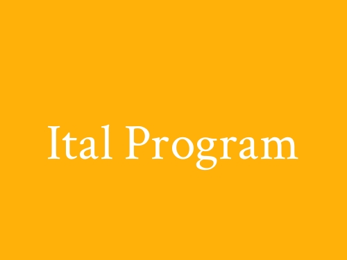 Ital Program