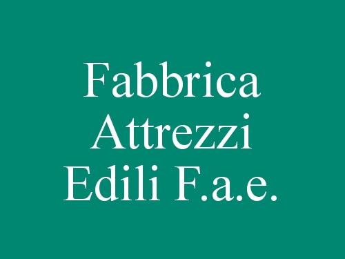 Fabbrica Attrezzi Edili F.a.e.