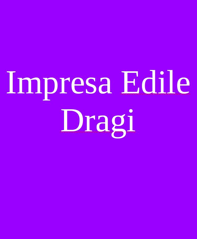 Impresa Edile Dragi