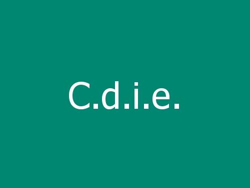 C.d.i.e.
