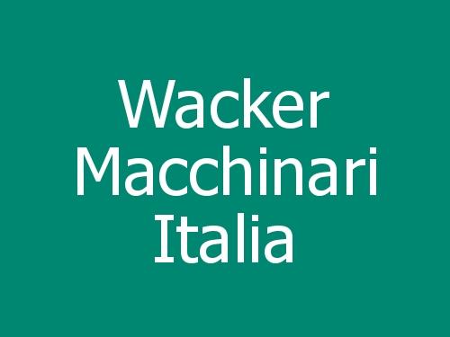 Wacker Macchinari Italia
