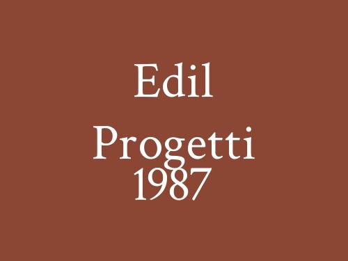 Edil Progetti 1987