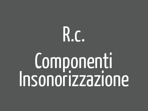 R.c. Componenti Insonorizzazione