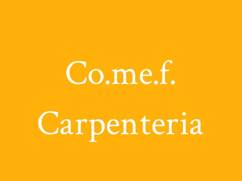 Co.me.f. Carpenteria