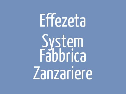 Effezeta System Fabbrica Zanzariere