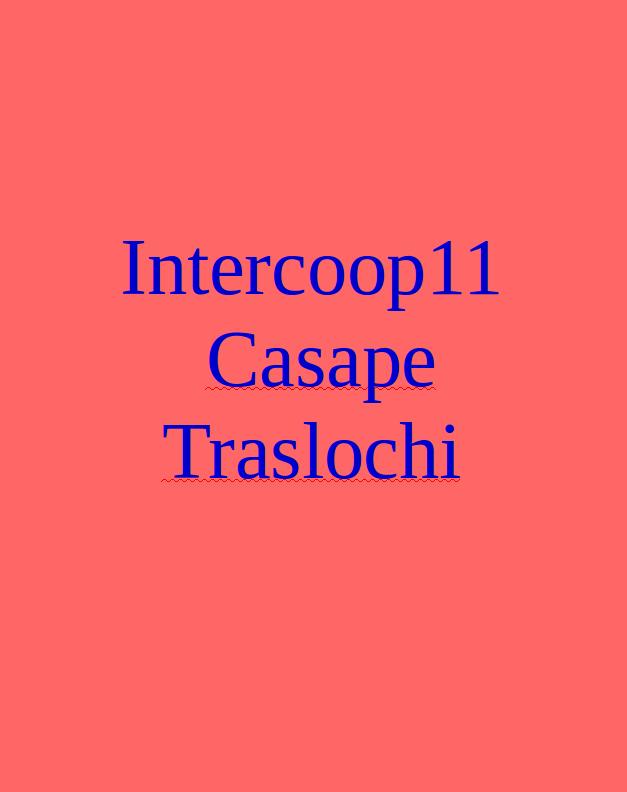 Intercoop11 Casape