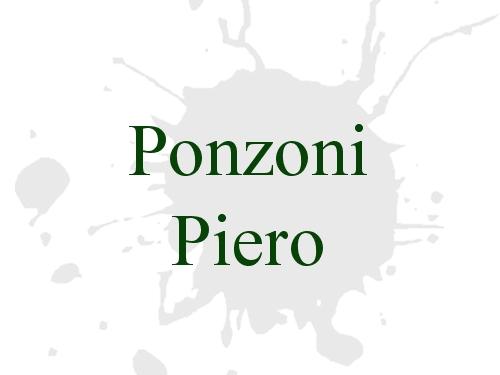Ponzoni Piero