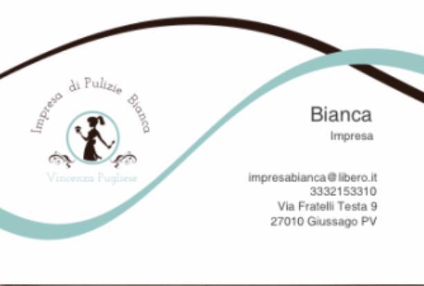 Impresa di pulizia Bianca
