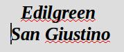 Edilgreen San Giustino