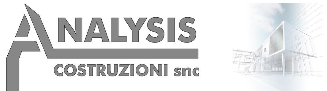 Analysis Costruzioni