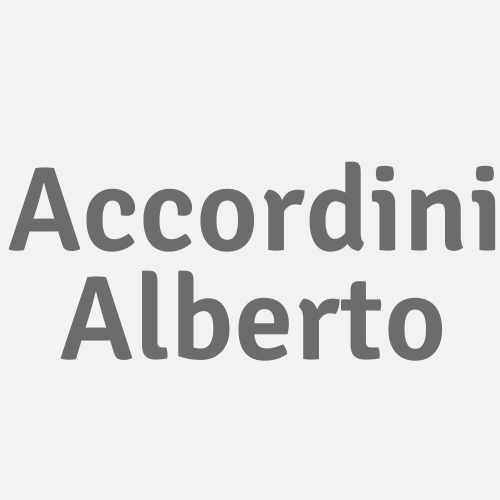 Accordini Alberto