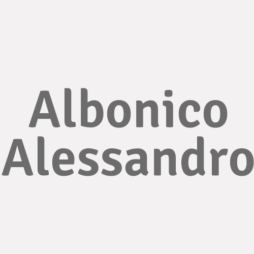 Albonico Alessandro