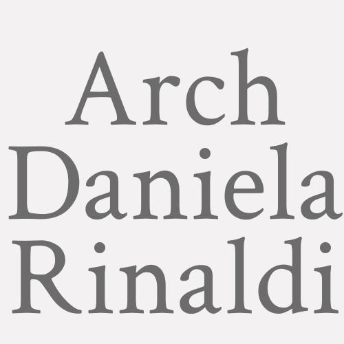 Arch. Daniela Rinaldi