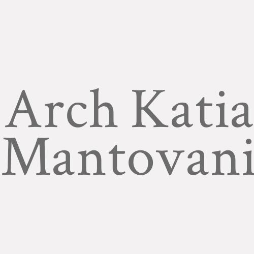 Arch. Katia Mantovani