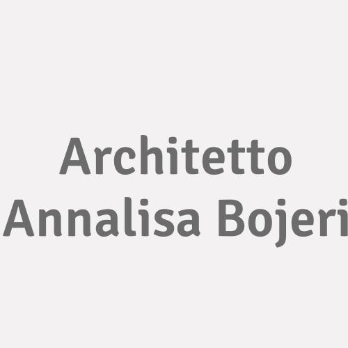 Architetto Annalisa Bojeri