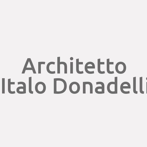 Architetto Italo Donadelli