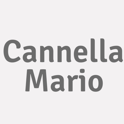 Cannella Mario