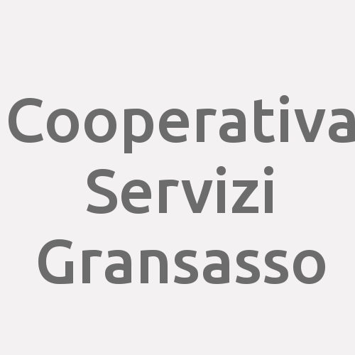 Cooperativa Servizi Gransasso