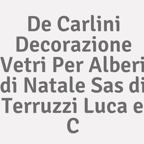 De Carlini Decorazione Vetri Per Alberi di Natale Sas di Terruzzi Luca e C