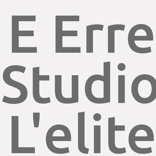 E Erre Studio L'elite