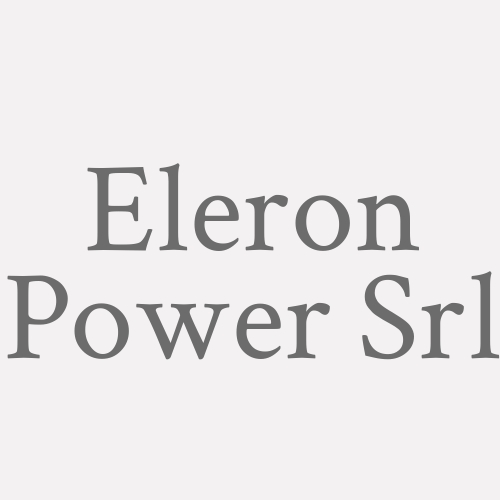 Eleron Power Srl