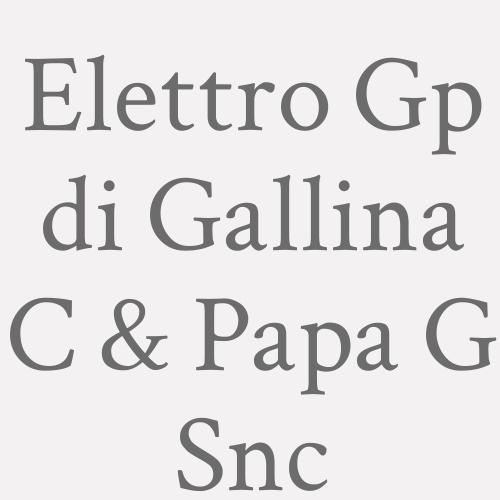 Elettro Gp Di Gallina C. & Papa G. Snc