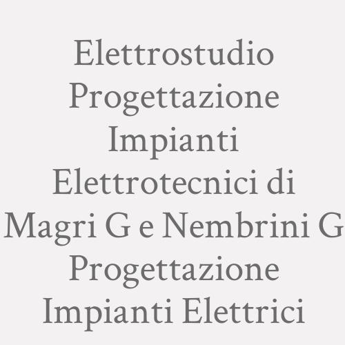 Elettrostudio Progettazione Impianti Elettrotecnici di Magri G e Nembrini G Progettazione Impianti Elettrici