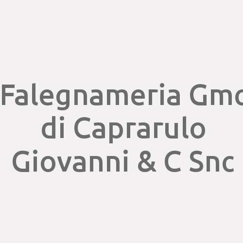 Falegnameria Gmc di Caprarulo Mario