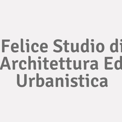 Felice Studio di Architettura Ed Urbanistica