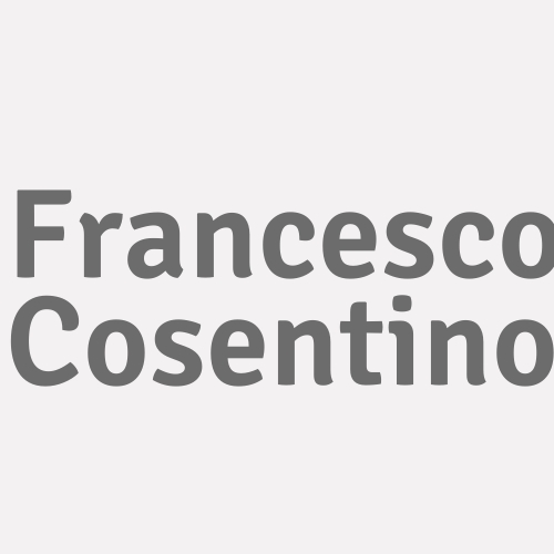Francesco Cosentino