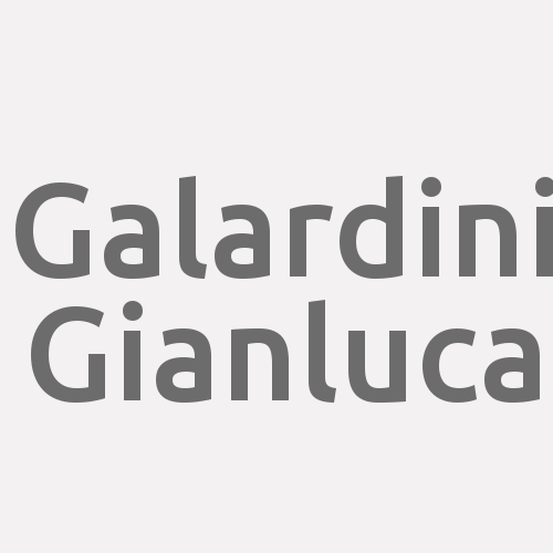Galardini Gianluca