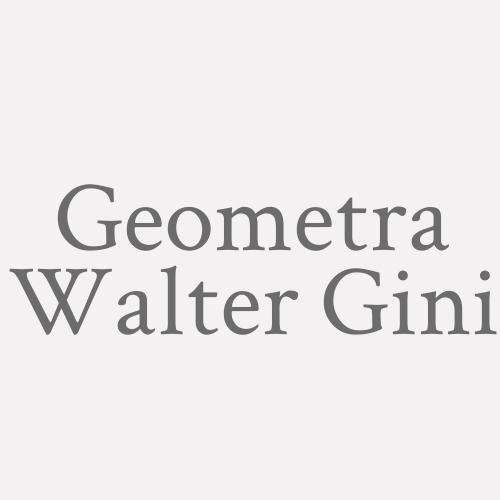 Geometra Walter Gini