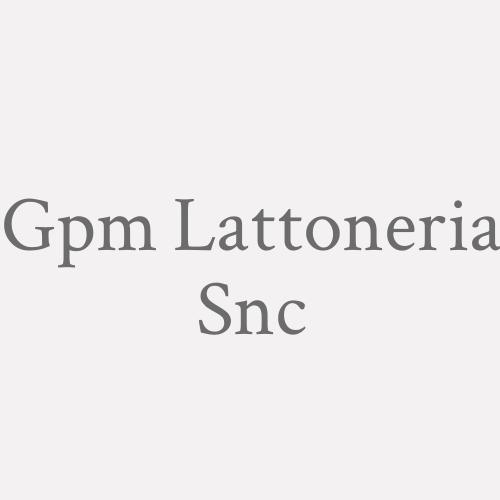 G.p.m. Lattoneria Snc