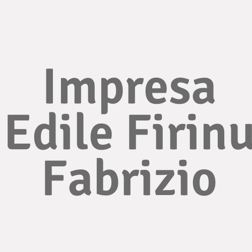 Impresa Edile Firinu Fabrizio