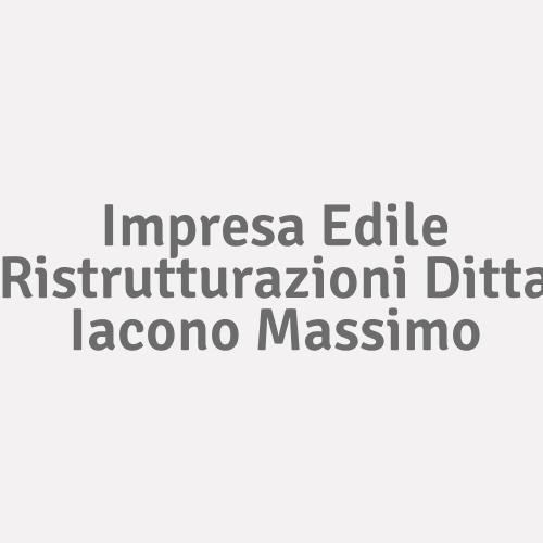Impresa Edile Ristrutturazioni Ditta Iacono Massimo