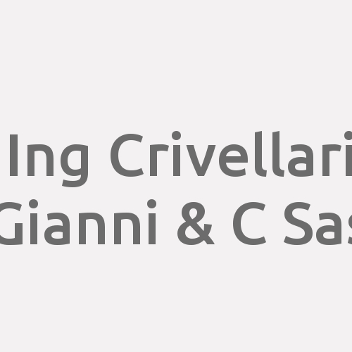Ing Crivellari Gianni & C Sas