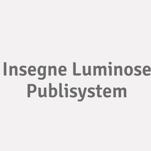 Insegne Luminose Publisystem