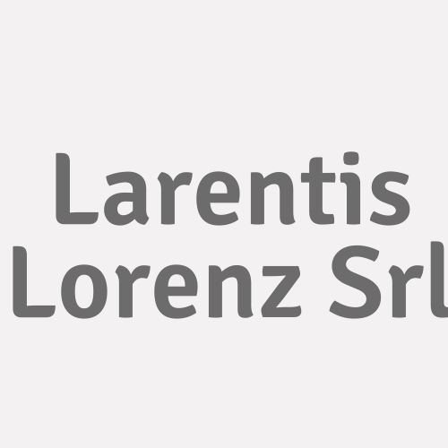Larentis Lorenz Srl